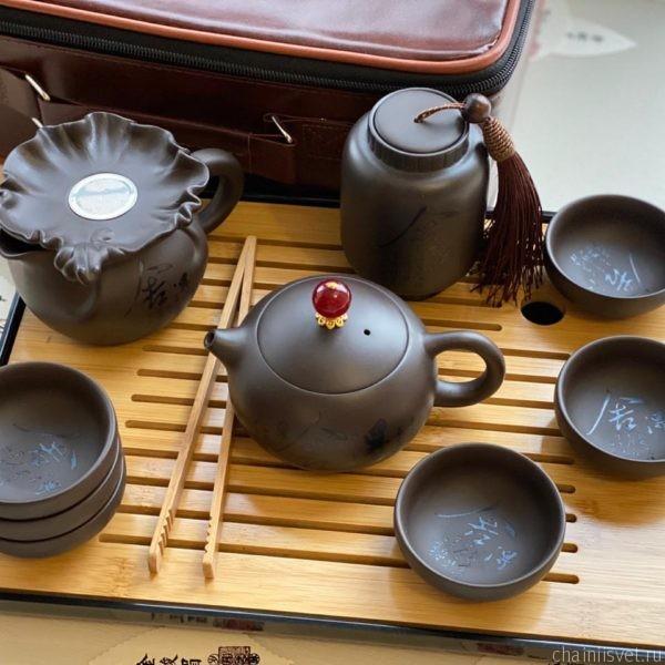 посуда для чая; чайный свет; чайные пиалы; сервиз для чая; китайский чайный набор; сервиз чайный путь